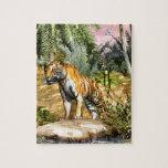 Gato de selva puzzles