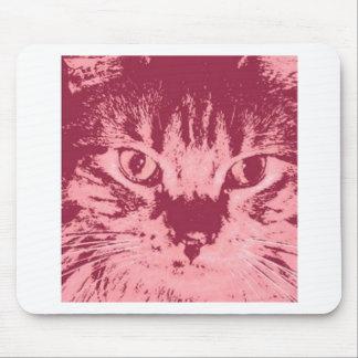 Gato de Tabby anaranjado Alfombrillas De Raton