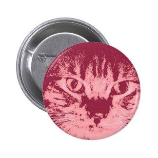 Gato de Tabby anaranjado Pin