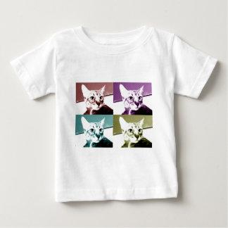 Gato de Tabby - arte pop Camisas