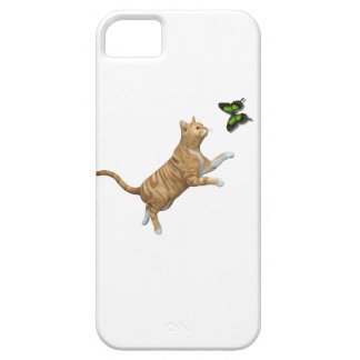 Gato de Tabby rojo Funda Para iPhone SE/5/5s