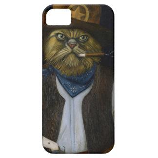 Gato de Tejas con una actitud Funda Para iPhone SE/5/5s