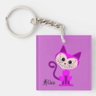 Gato de Toon Cheshire - Alicia en el país de las m Llavero