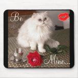 Gato del amor II Mousepad - personalizable Alfombrillas De Raton