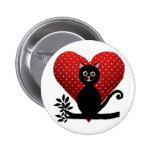 gato del amor pin