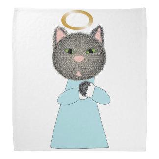 Gato del ángel bandana