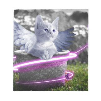 gato del ángel blocs