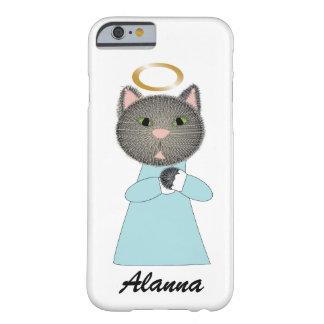 Gato del ángel funda barely there iPhone 6
