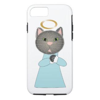 Gato del ángel funda iPhone 7