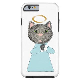 Gato del ángel funda resistente iPhone 6