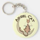 Gato del ángel llaveros