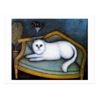 Gato del angora, Morris Hirshfield Postal