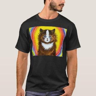 Gato del arco iris playera