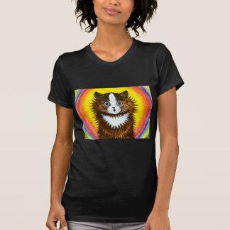 Gato del arco iris polera