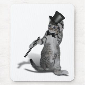 Gato del baile de golpecito tapete de raton