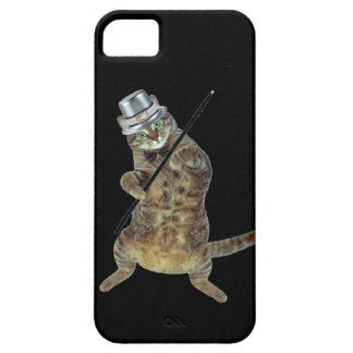 Gato del baile funda para iPhone 5 barely there
