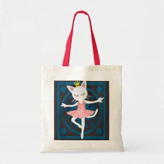 Gato del ballet bolsa tela barata