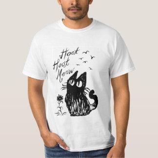 Gato del búho polera