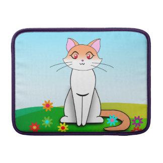 Gato del campo funda para macbook air