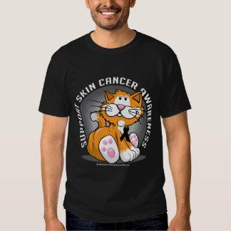 Gato del cáncer de piel polera