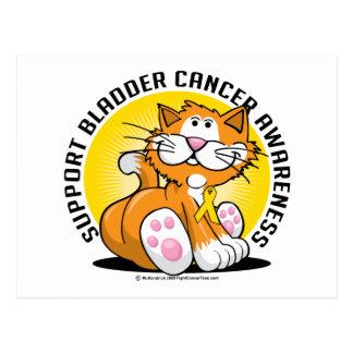 Gato del cáncer de vejiga postales