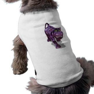 gato del chesire camisetas mascota