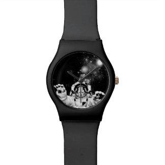 Gato del cosmonauta relojes de mano