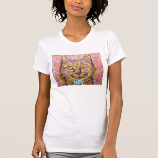 gato del día soleado ey t-shirt