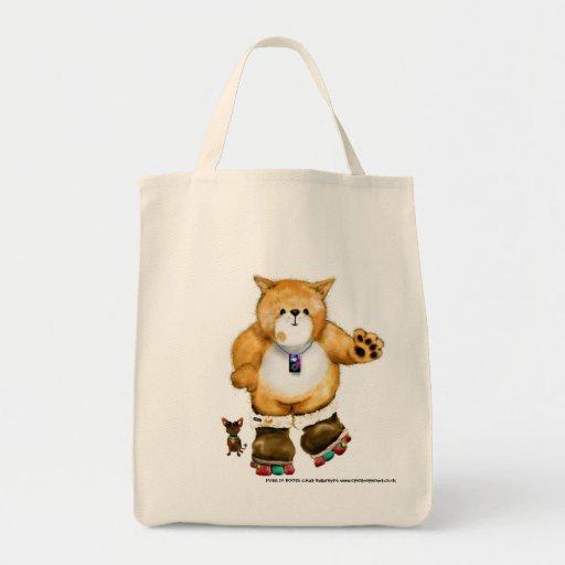 Gato del dibujo animado - Mp3 - bolso Bolsas