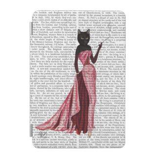 Gato del encanto en el rosa 2 cover de iPad mini