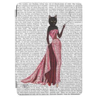 Gato del encanto en el rosa 2 cubierta de iPad air