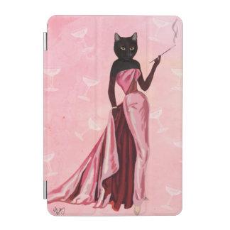 Gato del encanto en rosa cubierta de iPad mini
