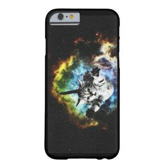 Gato del espacio - no pierda la esperanza funda de iPhone 6 barely there