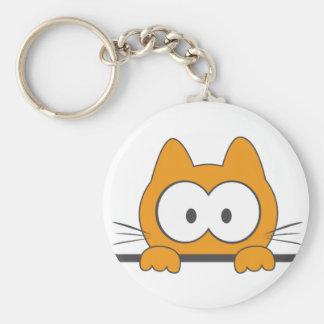 Gato del espía llavero personalizado