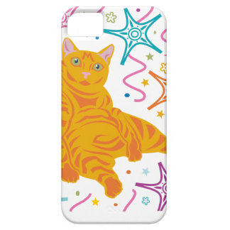 Gato del fiesta funda para iPhone SE/5/5s
