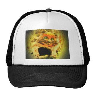 Gato del fuego gorro