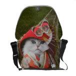 Gato del gatito de Omega Bolsas De Mensajeria
