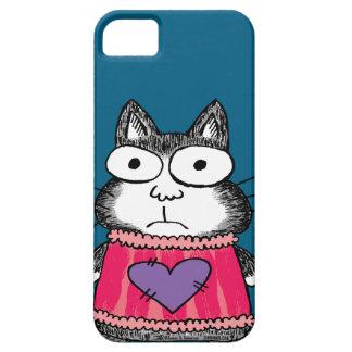 Gato del gatito del amor de Purrfect Funda Para iPhone SE/5/5s
