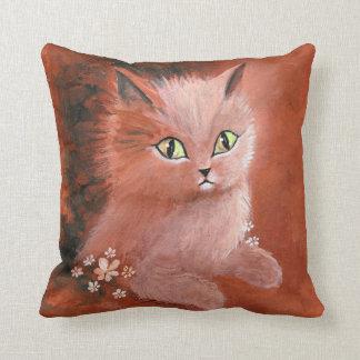 Gato del gatito del día lluvioso almohada