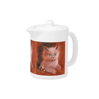 Gato del gatito del día lluvioso