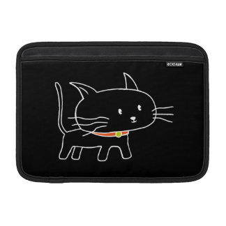Gato del gatito fundas macbook air