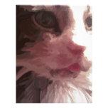 Gato del gatito membretes personalizados