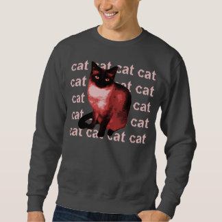 gato del gato del gato del gato sudadera