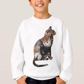 Gato del gato sudadera