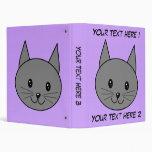 Gato del gris ahumado