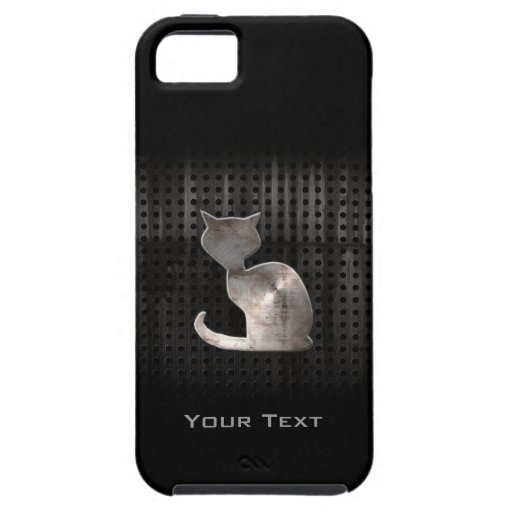 Gato del Grunge iPhone 5 Protector