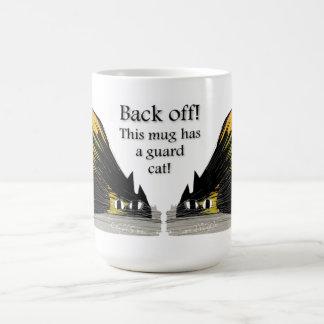 Gato del guardia/gato alerta taza