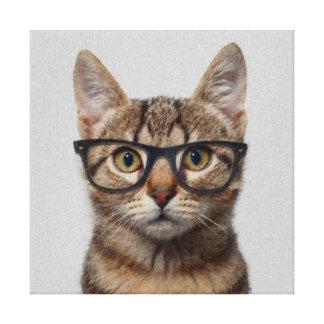 Gato del inconformista impresiones de lienzo