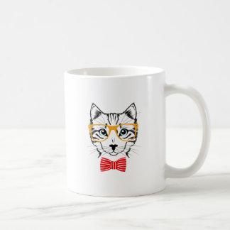 Gato del inconformista taza de café
