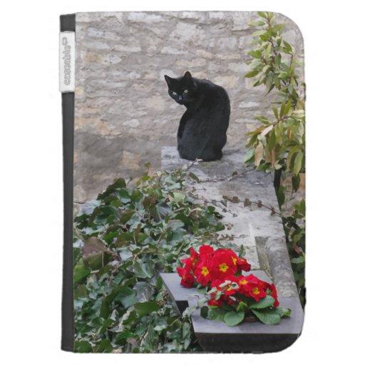 Gato del jardín